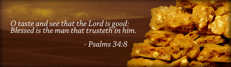 O taste and see that the Lord is good: Blessed is the man that trusteth in Him. - Psalms 34:8